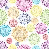 Teste padrão abstrato da gota do respingo Fundo do ponto das flores ou de luzes do fogo de artifício ilustração do vetor