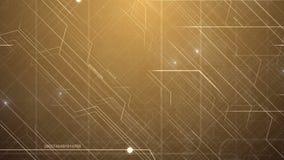 Teste padrão abstrato da tecnologia da Olá!-tecnologia ilustração stock