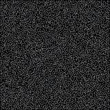 Teste padrão abstrato de estrelas de prata de queda aleatórias no backgro preto Fotografia de Stock