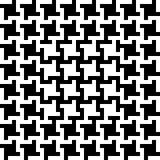 Teste padrão abstrato de Houndstooth Imagem de Stock