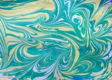 Teste padrão abstrato de mármore étnico Foto de Stock Royalty Free
