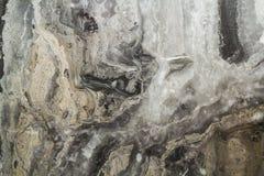 Teste padrão abstrato de mármore preto do fundo com alta resolução Fundo do vintage ou do grunge da textura velha de pedra natura Imagens de Stock Royalty Free