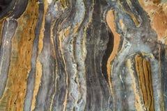 Teste padrão abstrato de mármore preto do fundo com alta resolução Fundo do vintage ou do grunge da textura velha de pedra natura fotografia de stock royalty free