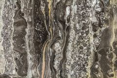 Teste padrão abstrato de mármore preto do fundo com alta resolução Fundo do vintage ou do grunge da textura velha de pedra natura imagens de stock