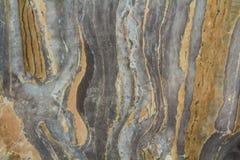 Teste padrão abstrato de mármore preto do fundo com alta resolução Fundo do vintage ou do grunge da textura velha de pedra natura fotografia de stock