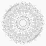 Teste padrão abstrato de prata sem emenda do ornamento ilustração do vetor