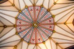 Teste padrão abstrato de um celling do museu Fotografia de Stock