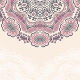Teste padrão abstrato decorativo nos cantos ilustração stock