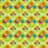 Teste padrão abstrato do arco-íris com luz - fundo verde ilustração royalty free