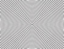 Teste padrão abstrato do círculo Fundos pretos do círculo Imagem de Stock Royalty Free