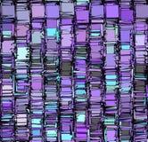 Teste padrão abstrato do contexto no cinza roxo azul Imagem de Stock Royalty Free