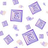 Teste padrão abstrato do fundo do vetor dos retângulos ilustração royalty free