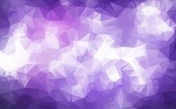 Teste padrão abstrato do fundo que consiste em triângulos cópia da quadriculação Foto de Stock