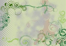 Teste padrão abstrato do grunge ilustração do vetor