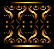 Teste padrão abstrato do ouro. Fotos de Stock