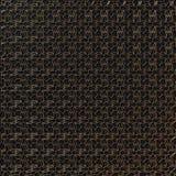 Teste padrão abstrato do ouro na obscuridade - fundo cinzento rendição 3d Imagem de Stock Royalty Free