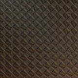 Teste padrão abstrato do ouro na obscuridade - fundo cinzento rendição 3d Foto de Stock Royalty Free