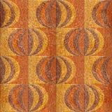Teste padrão abstrato do paneling - teste padrão do painel de parede interior - mure d Foto de Stock Royalty Free