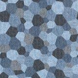 Teste padrão abstrato do paneling - teste padrão sem emenda, textura de calças de ganga Imagem de Stock Royalty Free