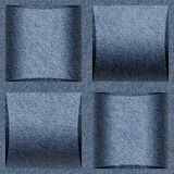 Teste padrão abstrato do paneling - teste padrão sem emenda, textura de calças de ganga Fotografia de Stock Royalty Free