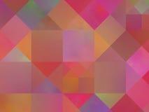 Teste padrão abstrato do quadrado do fundo Fotografia de Stock