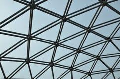 Teste padrão abstrato do telhado da abóbada Fotografia de Stock