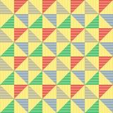 Teste padrão abstrato do triângulo Fotografia de Stock