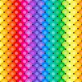 Teste padrão abstrato do vertical do arco-íris ilustração do vetor