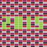 Teste padrão abstrato do vetor do retângulo Foto de Stock Royalty Free