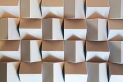 Teste padrão abstrato dos cubos Foto de Stock Royalty Free