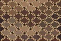 Teste padrão abstrato em cores mornas Imagem de Stock