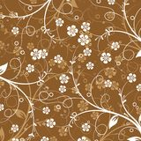 Teste padrão abstrato floral,   Imagens de Stock