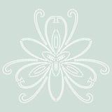Teste padrão abstrato floral Fotos de Stock Royalty Free