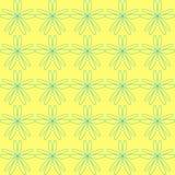 Teste padrão abstrato floral Ornamento Imagens de Stock