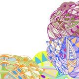Teste padrão abstrato geométrico Foto de Stock