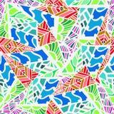 Teste padrão abstrato geométrico Fotos de Stock