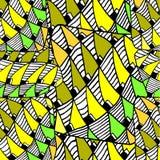 Teste padrão abstrato geométrico Fotografia de Stock