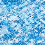 Teste padrão abstrato irregular sem emenda Fundo geométrico azul frio Imagens de Stock