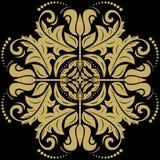 Teste padrão abstrato oriental Fotos de Stock Royalty Free