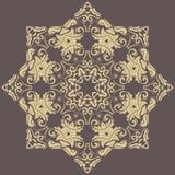 Teste padrão abstrato oriental Fotografia de Stock Royalty Free