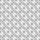 Teste padrão abstrato Ornamento Imagem de Stock Royalty Free