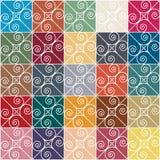 Teste padrão abstrato Ornamento Foto de Stock Royalty Free
