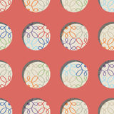 Teste padrão abstrato Ornamento Elementos do projeto Imagens de Stock Royalty Free