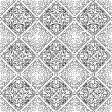 Teste padrão abstrato para a garatuja colorindo Fotografia de Stock