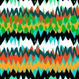 Teste padrão abstrato pintado à mão do Grunge Imagem de Stock Royalty Free