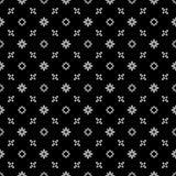 Teste padrão ABSTRATO preto no fundo branco Imagens de Stock