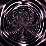 Teste padrão abstrato radial com forma da aranha Foto de Stock