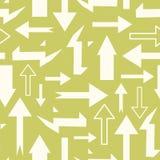 Teste padrão abstrato sem emenda com setas Fotografia de Stock