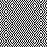 Teste padrão abstrato sem emenda do vetor preto e branco Papel de parede abstrato do fundo Ilustração do vetor imagens de stock