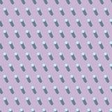Teste padrão abstrato sem emenda no fundo lilás imagem de stock royalty free